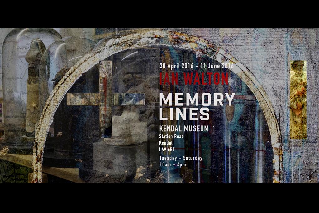 Memory Lines Invitation Ian Walton